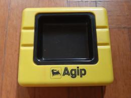 Gadget Portacenere Di Design In Plastica AGIP (Gorial) - Metal