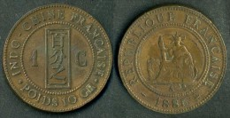 Indocina  - Moneta 1 Centime - 1885 - Rif. Ba115 - Colonie
