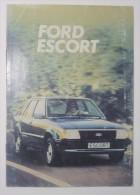 FORD ESCORT. Manual De Instruções. 1980 - Shop-Manuals