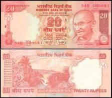 India #new 20-2008, 20 Rupees, 2008, UNC - Indien