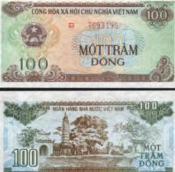 Viet Nam #105a Lg, 100 Dông, 1991 (1992), UNC / NEUF - Vietnam