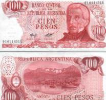 Argentina #302b, 100 Pesos, ND (1976-78), UNC / NEUF - Argentinien