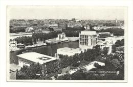 Cp, 75, Paris, Exposition Internationale - 1937 - Vue D'ensemble Prise De La Tour Eiffel, écrite 1937 - Exhibitions