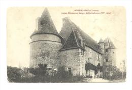 Cp, 16, Montmoreau, Ancien Château Des Marquis De Rochechouart - Otros Municipios
