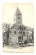 Cp, 62, Bonnières, L'Eglise, Voyagée - Autres Communes