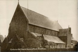 (248) Old Postcard / Carte Ancienne - UK - Southsea Church - Portsmouth