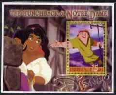 67398 - Liberia 2006 Walt Disney - The Hunchback Of Notre Dame Perf M/sheet Unmounted Mint - Liberia