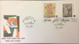 Vietnam: Painting Of Van Gogh - 1993 FDC Fine - Unclassified