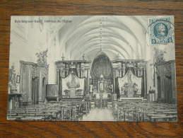 Bois-Seigneur-Isaac Intérieur De L'Eglise / Anno 19?? ( Zie Foto´s Voor Details ) !! - Eigenbrakel