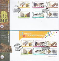 Hong Kong China Stamp On CPA FDC: 2013 Revitalisation Of Historic Buildings In Hong Kong HK123374 - 1997-... Chinese Admnistrative Region