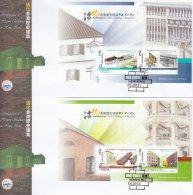 Hong Kong China Stamp On CPA FDC: 2013 Revitalisation Of Historic Buildings In Hong Kong Booklet Souvenir Sheet HK123377 - 1997-... Région Administrative Chinoise