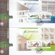 Hong Kong China Stamp On CPA FDC: 2013 Revitalisation Of Historic Buildings In Hong Kong Booklet Pane HK123376 - 1997-... Chinese Admnistrative Region