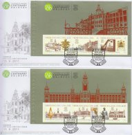 Hong Kong China Stamp On Post Office FDC: 2011 The University Of Hong Kong Centenary Prestige Booklet Pane HK123372 - 1997-... Chinese Admnistrative Region