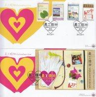 Hong Kong China Stamp On CPA FDC: 2011 Volunteerism Stamp & Souvenir Sheet HK123365 - 1997-... Région Administrative Chinoise