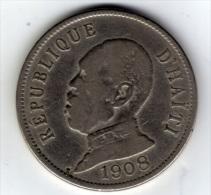 HAITI - 50 Centimes - 1908 - Haïti