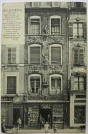 54 : Nancy Monumental - Rue Des Dominicains - Maison Bâtie Et Sculptée En 1720 Par Adam - Animée - Bureau De Tabac - Nancy