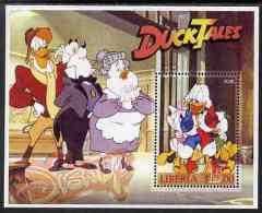 82305 - Liberia 2006 Walt Disney - Duck Tales (Donald Duck) Perf M/sheet Unmounted Mint - Liberia
