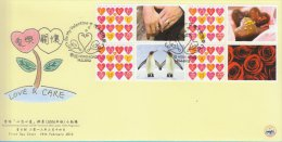 Hong Kong China Stamp On CPA FDC: 2012 Love & Care Heartwarming Stamp HK123357 - 1997-... Chinese Admnistrative Region