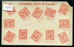 Corrispondenza Amorosa Dei  Francobolli - Timbres (représentations)