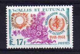 Wallis & Futuna - 1968 - 20th Anniversary Of WHO - MH - Wallis-Et-Futuna