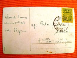 Post Card Sent In Latvia Coat Of Arms, 2 Scans Greetings - Lettonie
