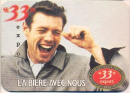 "#D68-202 Viltje ""33"" - Sous-bocks"
