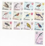 Gambia-1966 Birds Definitives MNH - Birds