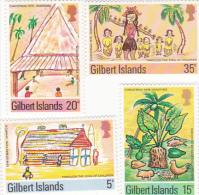Gilbert Islands-1976 Christmas Set MNH - Christmas