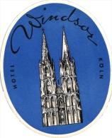 10 Hotel Labels Deutschland Allemagne Duitsland Frankfurt National Krefeld Schucht Wiesbaden Schwarzer Bock Koln Windsor - Hotel Labels