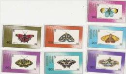 Mongolia-1990 Moths & Butterflies MNH - Butterflies