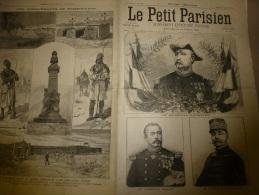 1898  LE PETIT PARISIEN : Tombouctou; La Vraie Histoire Du BASTION De La LANTERNE D'où Son Nom; Général Saussier; - Zeitungen