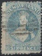 NOUVELLE-ZELANDE - 6 P. De 1873 Oblitéré - Used Stamps