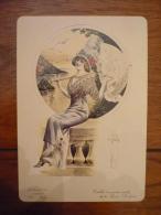 Reproduction La Femme Chic N°21 Toilette De Garden Party - Chromo