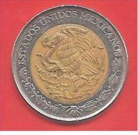 MESSICO - MEXICO - 1993 - COIN MONETA - 5 NEW PESOS - CONDIZIONI SPL - BIMETALLICA - México