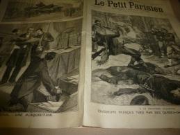 5 Décembre 1897  LE PETIT PARISIEN : Dreyfus; Catastrophe Du Chemin De Fer De CAPVERN; Le Drame De Prat (Puget-Théniers) - Zeitungen
