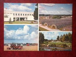 Lenin Model Vegetable-breeding State Farm - Greenhouses -harvester - Harju District - 1981 - Estonia USSR - Unused - Estonia