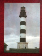 Osmussaar Lighthouse , 1954 - Estonian Lighthouses - 1979 - Estonia USSR - Unused - Phares
