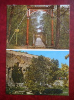 Ruins Of The Convent Castle - Suspension Bridge - Viljandi - 1982 - Estonia USSR - Unused - Estonia