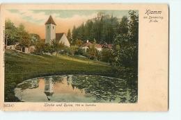 KLAM Am Semmering : Kirche Und Ruine. 2 Scans. Edition Ledermann - Semmering