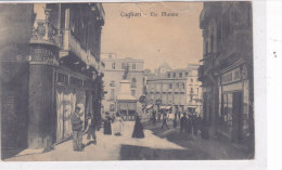CARD CAGLIARI VIA MANNO PIEGHE COME DASCANNER  -FP-V-2-0882-16364 - Cagliari