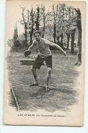 Le Lancement Du Disque. Les Sports. Athlétisme. 2 Scans. - Athlétisme