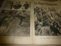 1er Mai 1898  LE PETIT PARISIEN :Alphonse XIII Roi D ' ESPAGNE; Emeute Contre Les USA; Guerre Hispano-Américaine - Newspapers