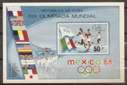 JUEGOS OLÍMPICOS - CUBA 1968 - Yvert #H31 - MNH ** - Verano 1968: México