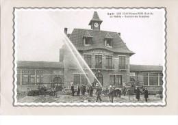 Exercice Des Pompiers . - Les Clayes Sous Bois