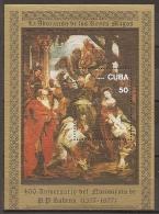PINTURA/RUBENS - CUBA 1977 - Yvert #H52 - MNH ** - Rubens