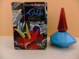 MINIATURE  EAU DE PARFUM     ---   LOULOU - CACHAREL   --   PARIS -- 17 Fl Oz 5 Ml  --    ECHANTILLON DE COLLECTION - Miniaturas Modernas (desde 1961)