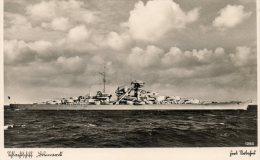 AK Orig. Schlachtschiff BISMARCK - Guerra