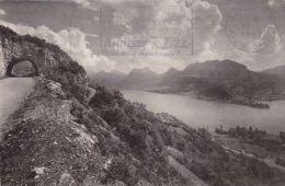 Cp , 74 , LAC D'ANNECY , Le Petit Lac Vu De La Corniche - Annecy
