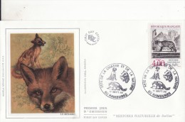 *** Fête De La Chasse Et De La Nature (Chien - Blaireau - Renard) *** Oblitération Illustrée 80-RAMBURES 11-09-1988 - Postmark Collection (Covers)