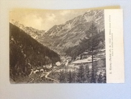 CARTOLINA S.RHEMY ALT.1552 DEL 1919 VIAGGIATA BUONO STATO - Aosta